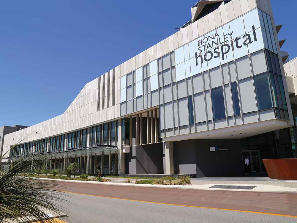Precast Concrete - Fiona Stanley Hospital.