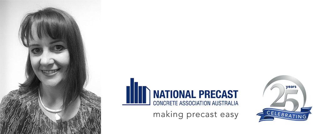 Sarah Bachmann, CEO, National Precast Concrete Association Australia.