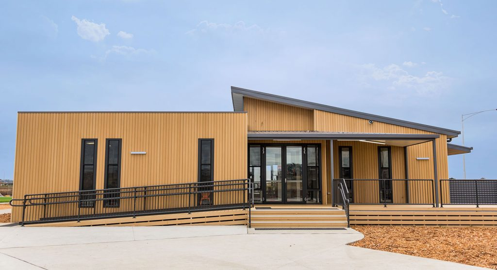 Prefabricated Primary school at Ballarat (Stage 1) Built by Swanbuild/Pretect