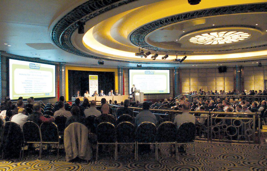 Day 2: Assembled Frame Australia conference delegates.
