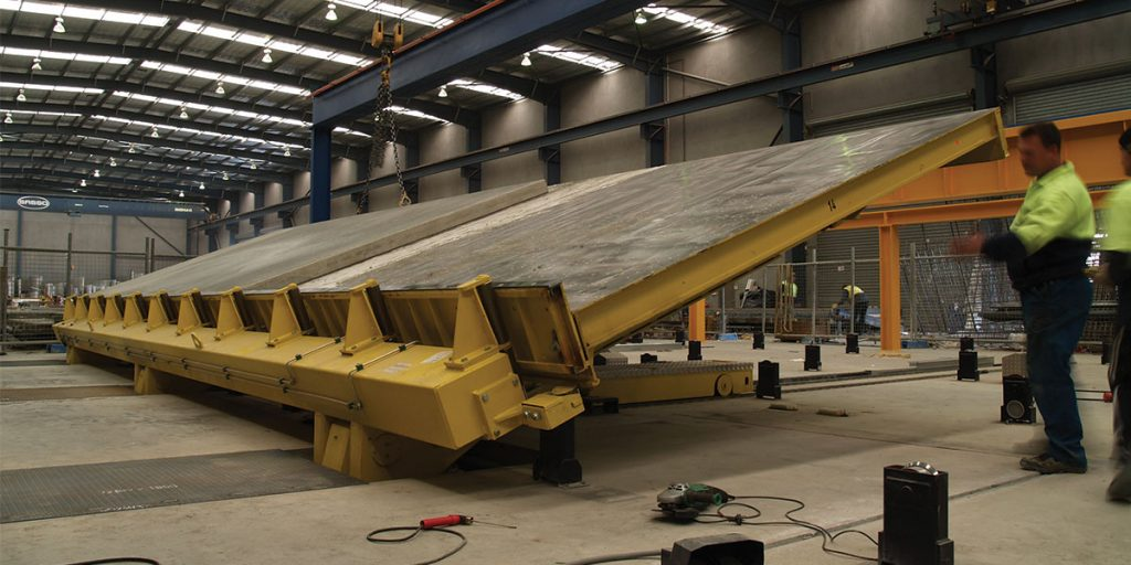 Precast moulds are fully customisable to achieve any shape.