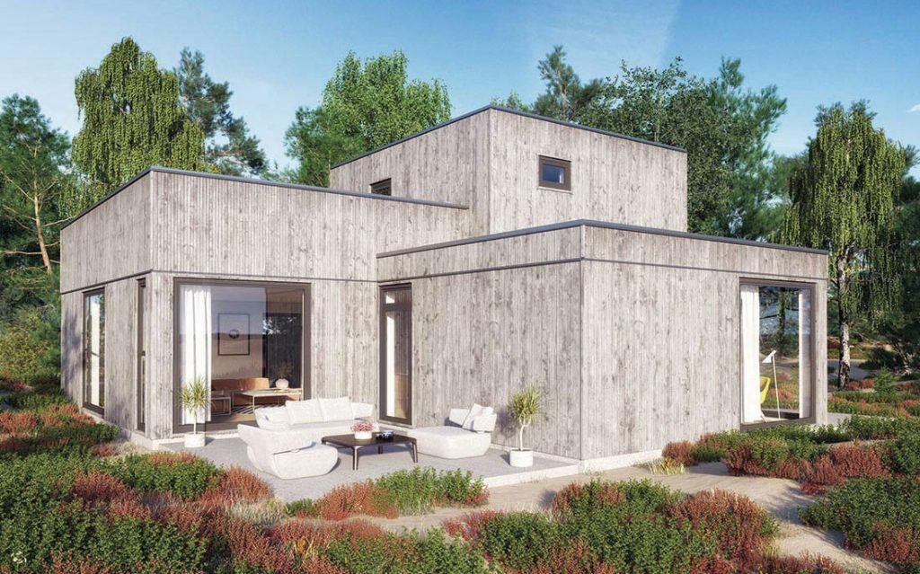 Västkustvillan - Villa Bastad Type A home.