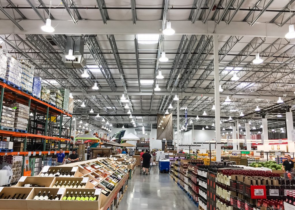Big box retailers from Aldi to Costco (pictured right) and IKEA recognise precast's durability, quality, flexibility and speed.