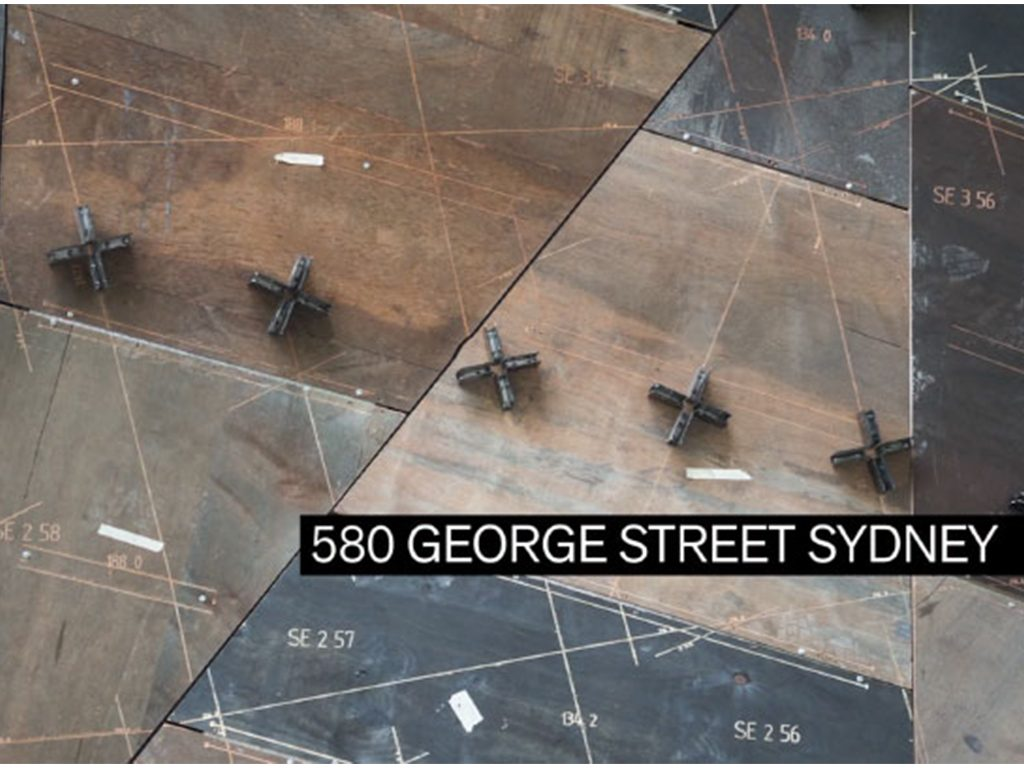 580 George Street Sydney: comprehensive virtual design and construction models account for even the smallest element.