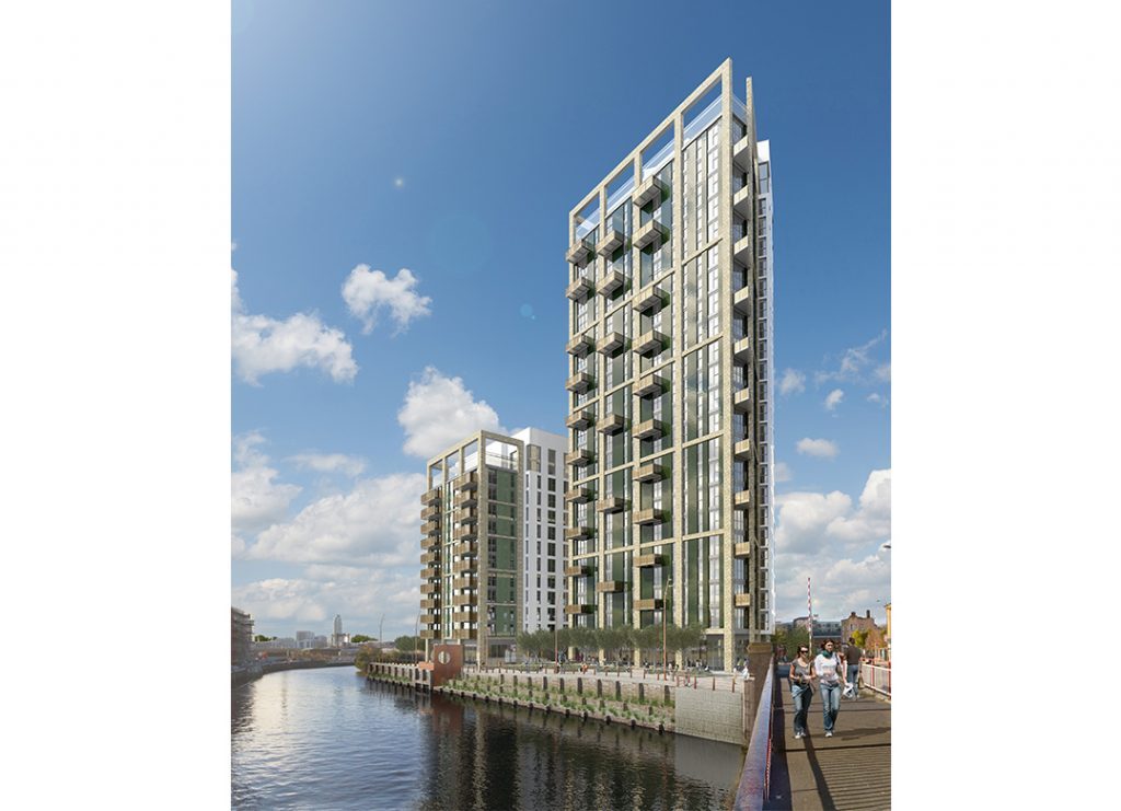 Creekside Wharf – located in Greenwich, the 249-home scheme is London's first modular build to rent project.
