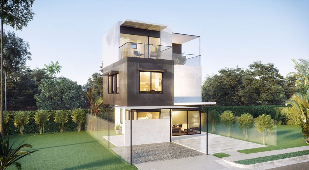 Tranche House: flexible modularity empowers occupants to customise their home as requirements change.