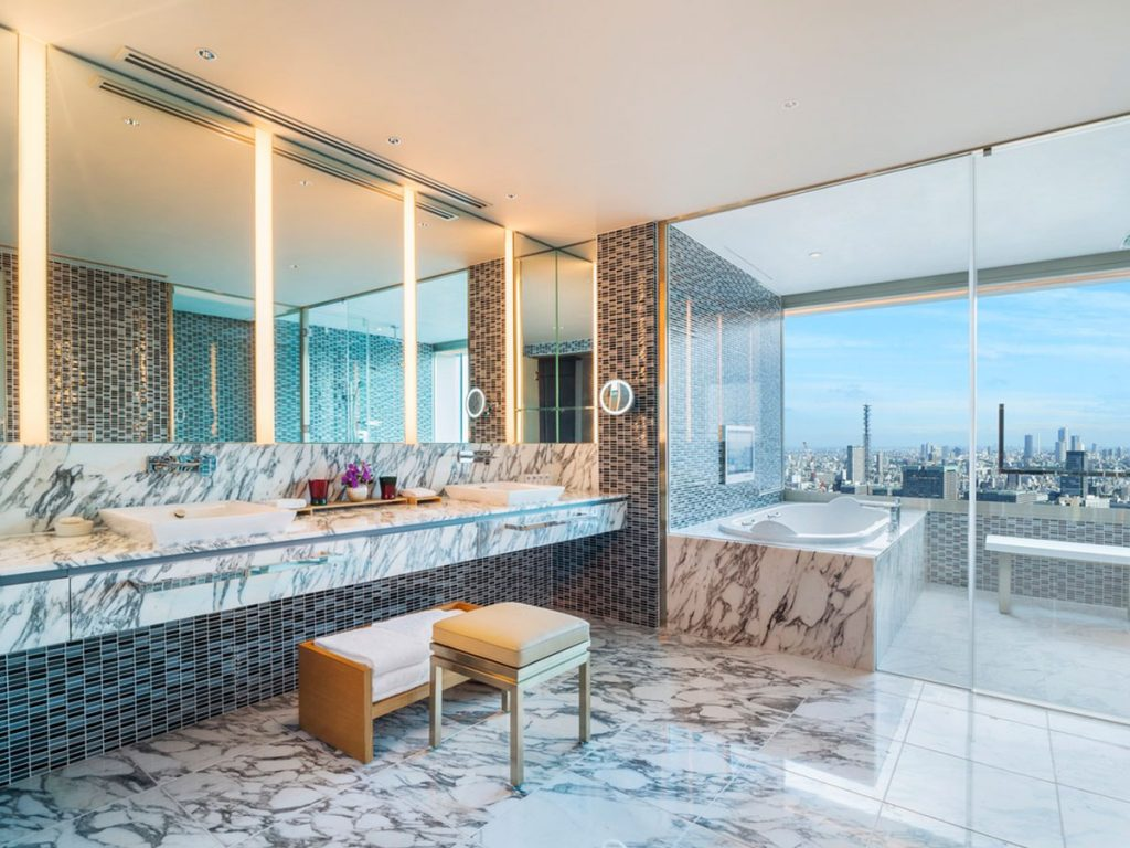 Premium quality: PUDA bathrooms are favoured by luxury hospitality brands including The Prince Gallery Tokyo Kioicho.