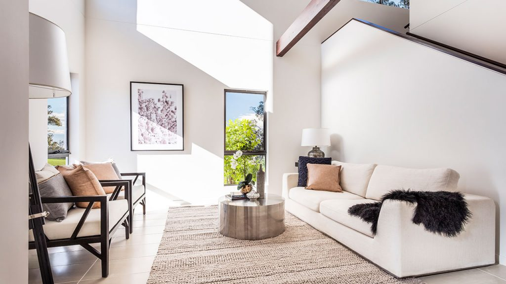 living spaces are designed with quality finishes and an emphasis on natural light.