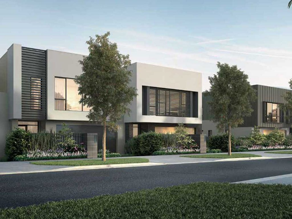 Mirvac's Tullamore residential development in Doncaster, Melbourne - a collaboration with Drouin West Timber & Truss, using panelised solutions.