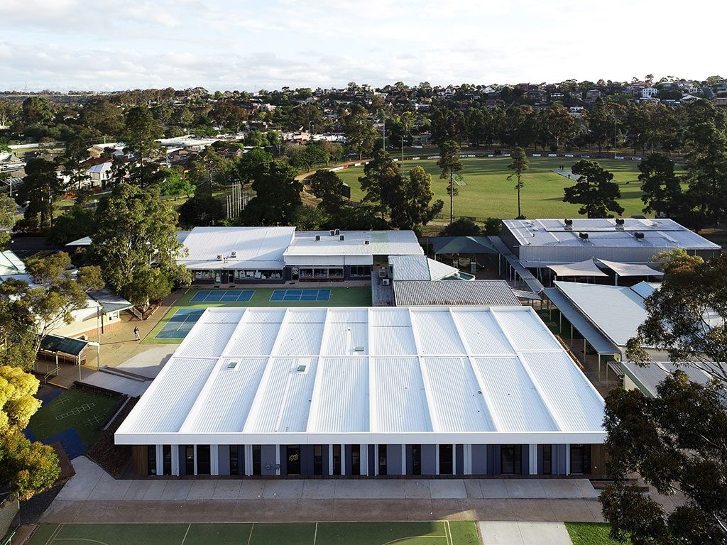 Keilor Primary School - delivery managed by Sensum.