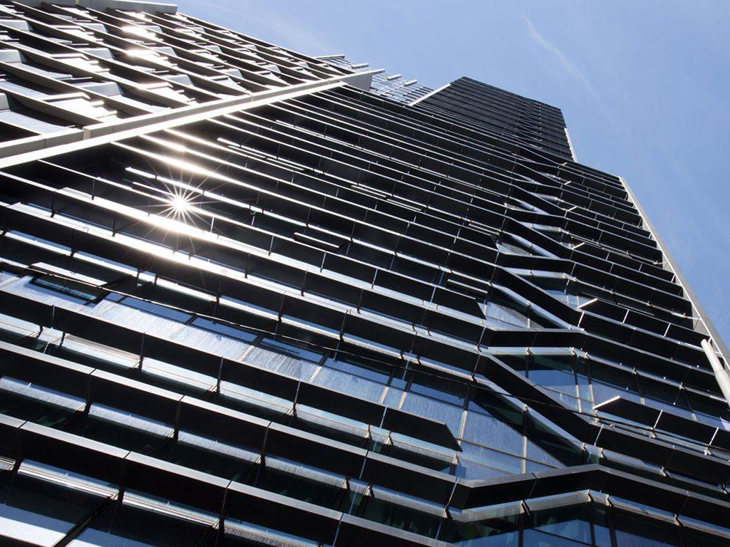 The La Trobe Street tower, the tallest prefab student accommodation in Australia, demonstrates HBS' efficiencies.