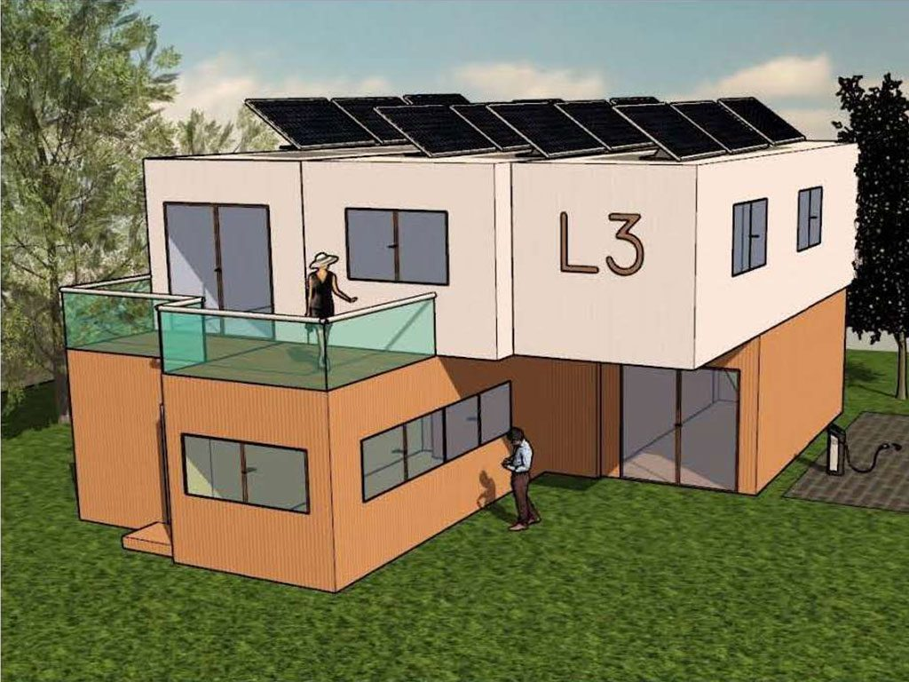 The L3 project is designed to demonstrate synergies between modular buildings and CE thinking.
