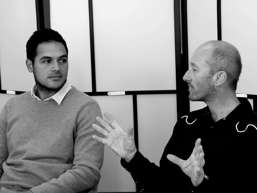 L-R: Mario Posala, Studio Design Manager - Arkit; David Saunders, founder - S2 Design