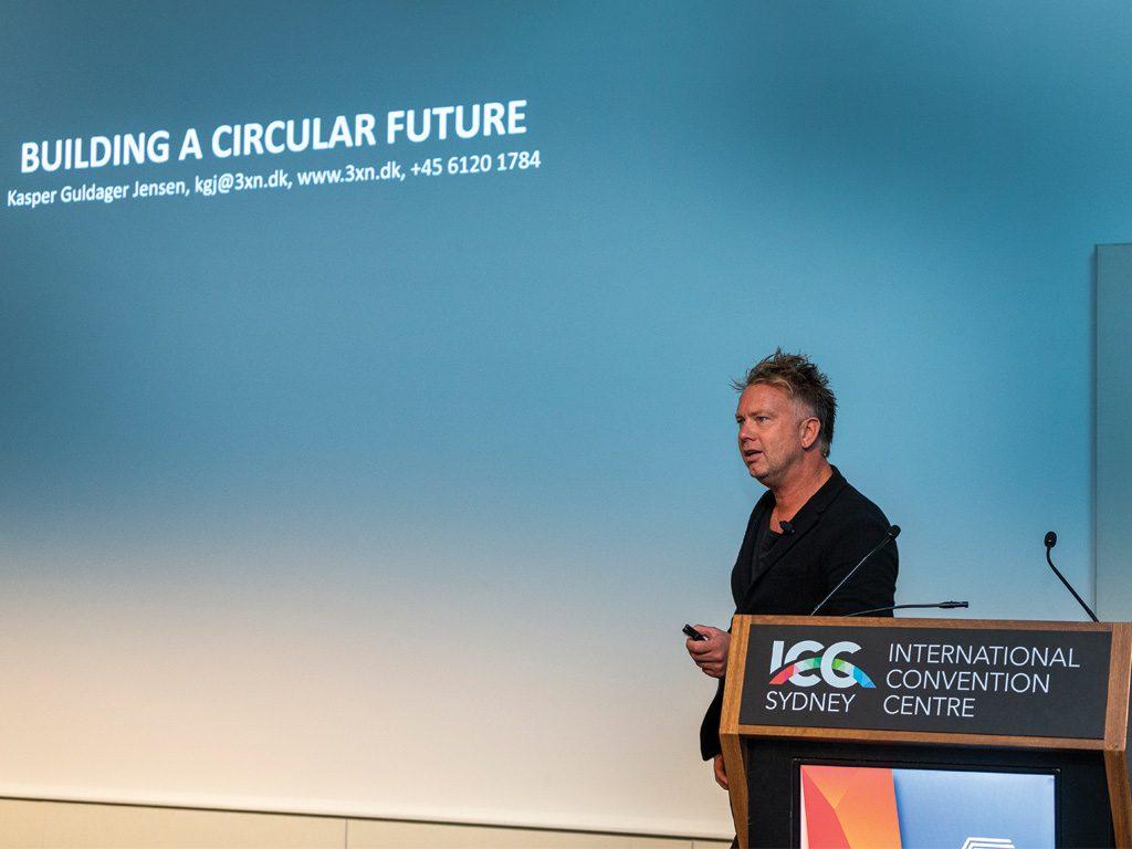 International Keynote Speaker, Kasper Guldager Jensen, offering an alternative view of a minimal waste construction sector.