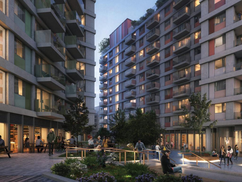 Render: NO6 scheme - London.