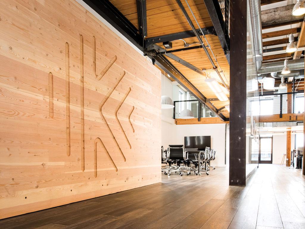 Katerra's office in Seattle.