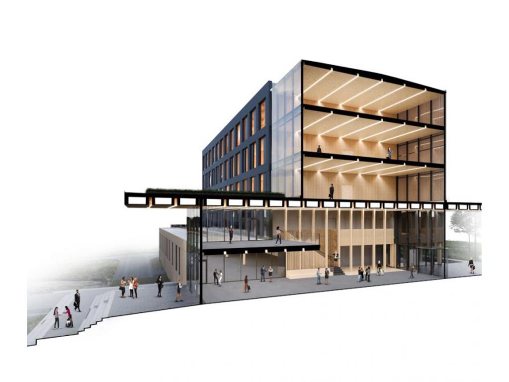 Katerra building design model.