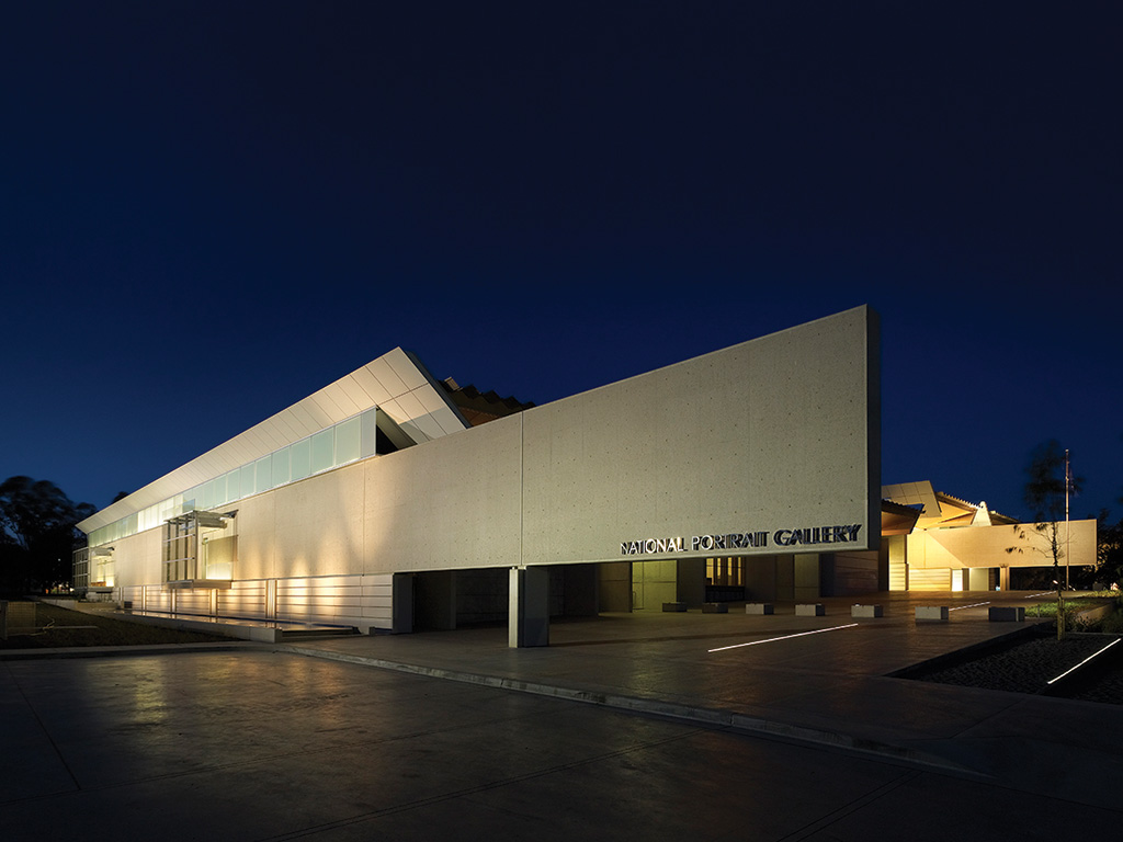 One of the country's leading architectural precasters, Brisbane-based Precast Concrete Products, transported precast to Canberra for the National Portrait Gallery.