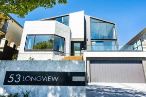 Modern prefabricated panel construction Melbourne house