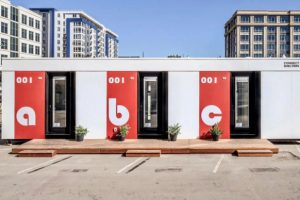 modular tiny house for the homeless