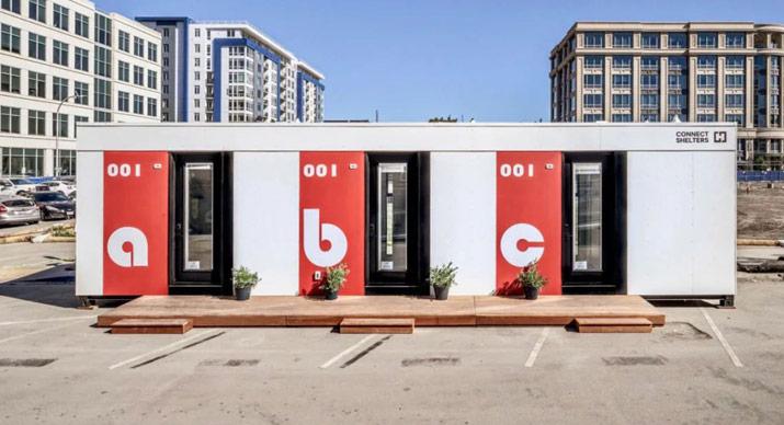 modular tiny house for the homeless