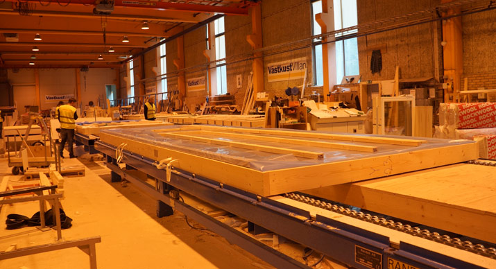 panel manufacturing prefabrication factory