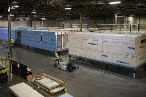 blokable modular housing factory floor