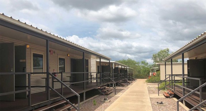 Howard Springs quarantine modular accommodation