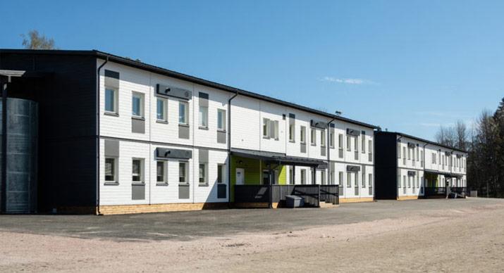 Parmaco modular building