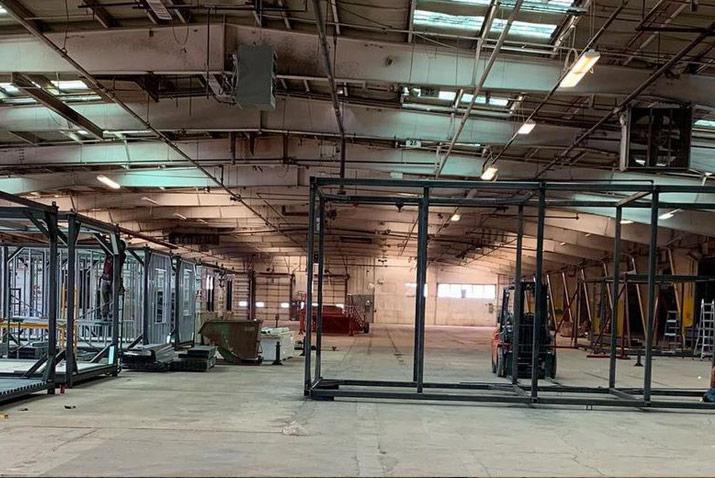 AMC modular home manufacturing