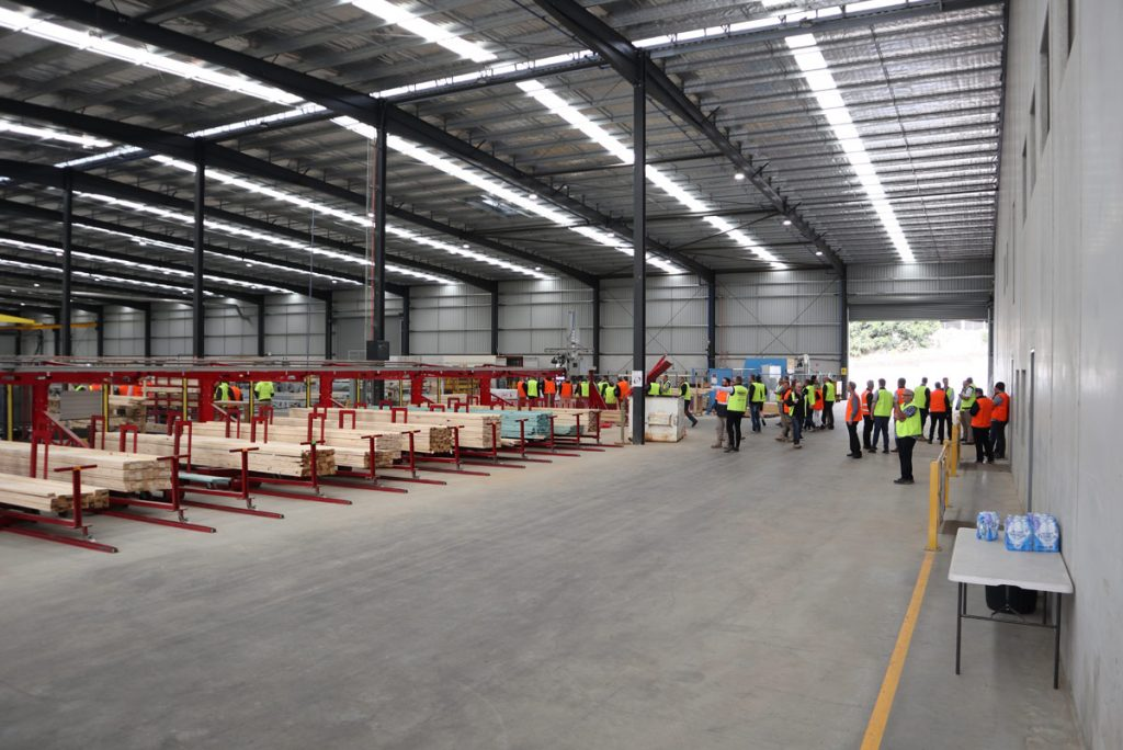 Drouin West Timber and Truss factory prefabrication plant
