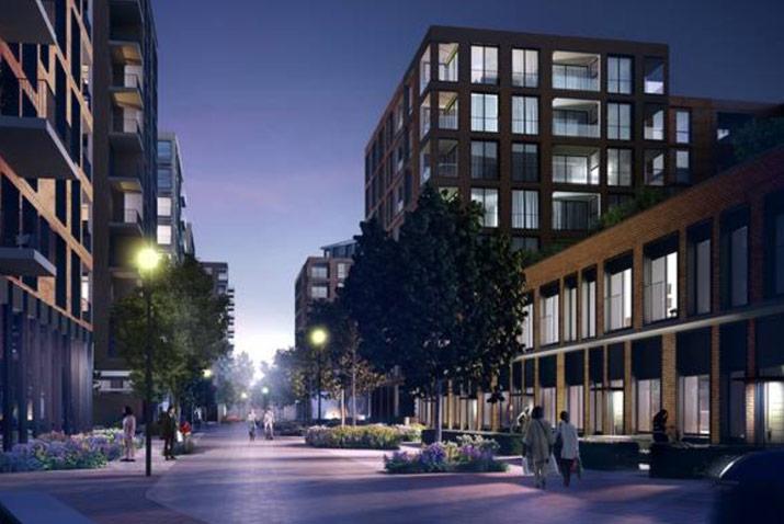 Impact UK modular housing Romford