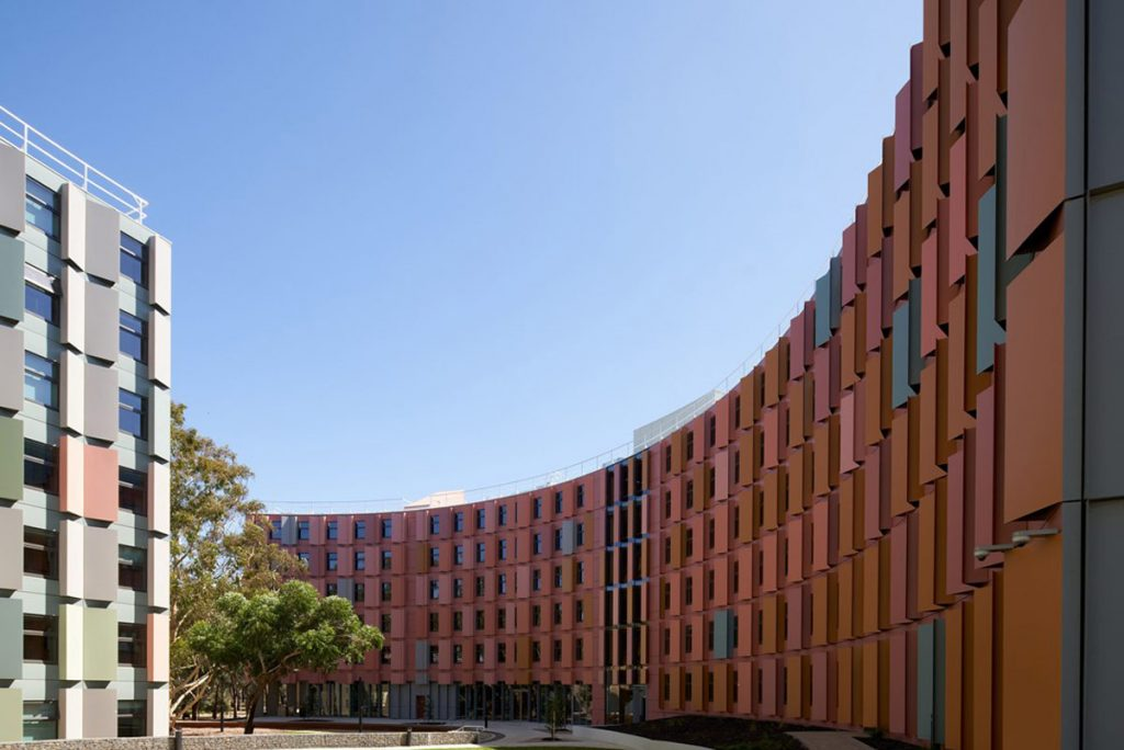 Multiplex Latrobe university CLT and GLT building