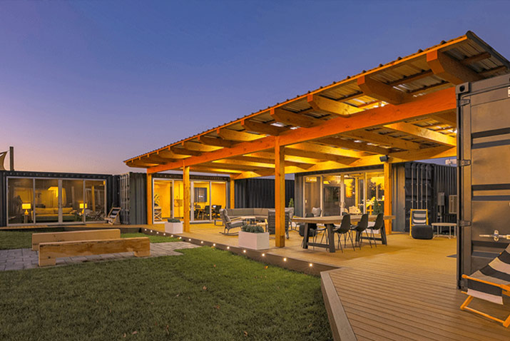 Shipping containers modular housing solutions