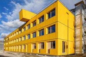 Swiss prefabrication house manufacturer Blumer Lehmann
