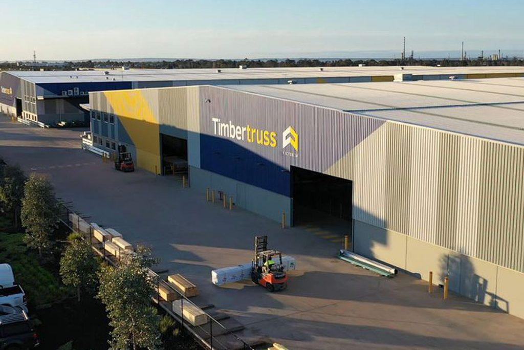 Timbertruss prefabrication manufacturing plant