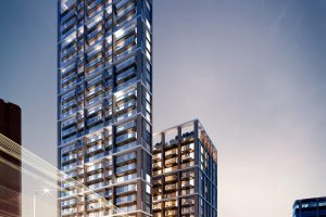 Worlds tallest modular building George St