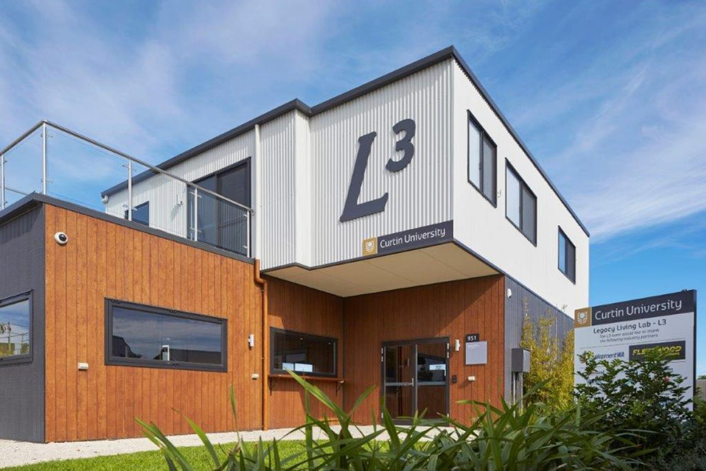 Fleetwood and Curtin University living lab
