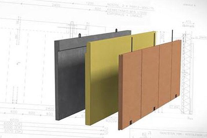 Prefabricated hybrid LVL/Concrete wall