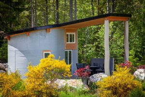 Fibonacci House 3D concrete printed home