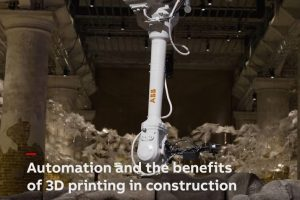 ABB robotics 3D printing for construction