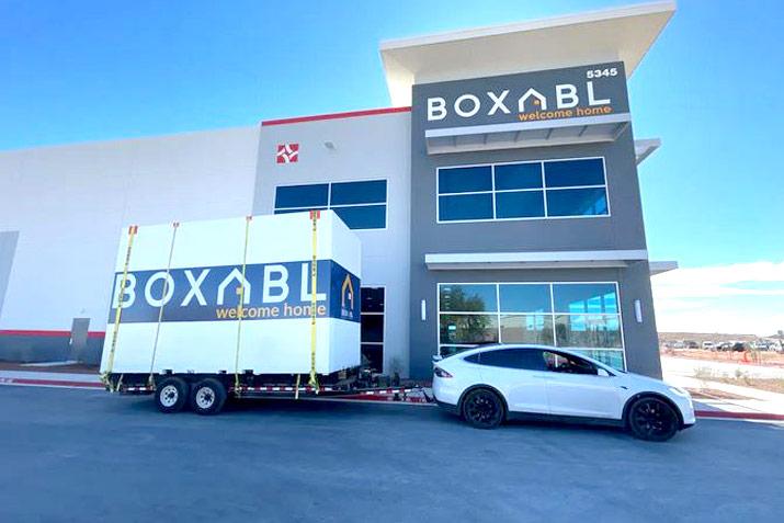 Boxabl prefab housing Elon Musk