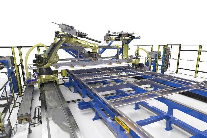 Randek robotics to hold prefabrication equipment