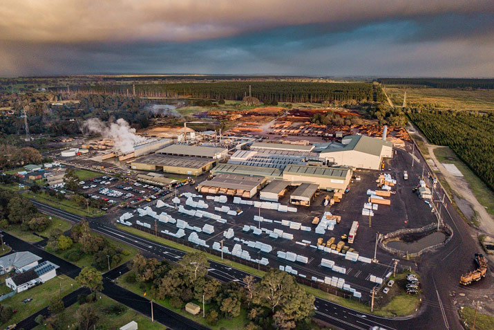 timberlink CLT GLT production factory