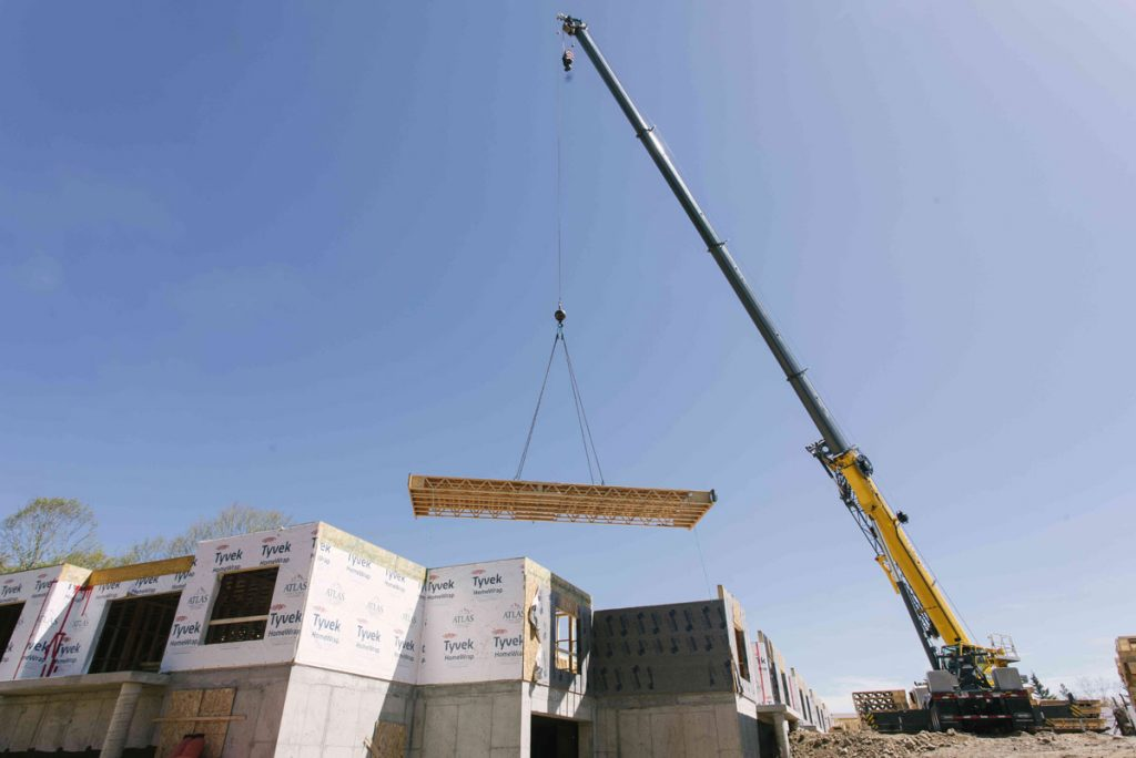 Atlas Structural Systems install prefabricated cassette